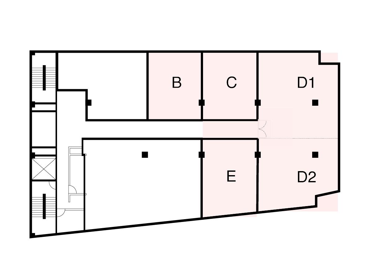 (B+C+D1+D2+E+H3通路+D3通路)